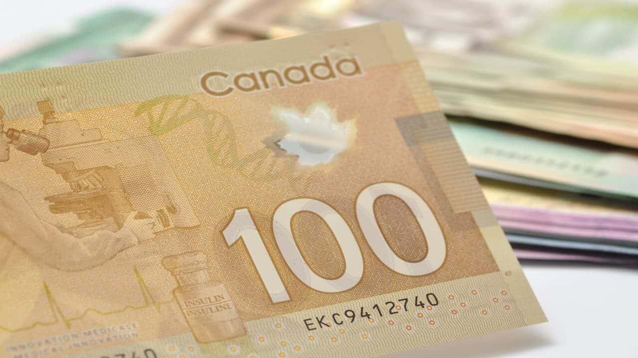 A $100 bill
