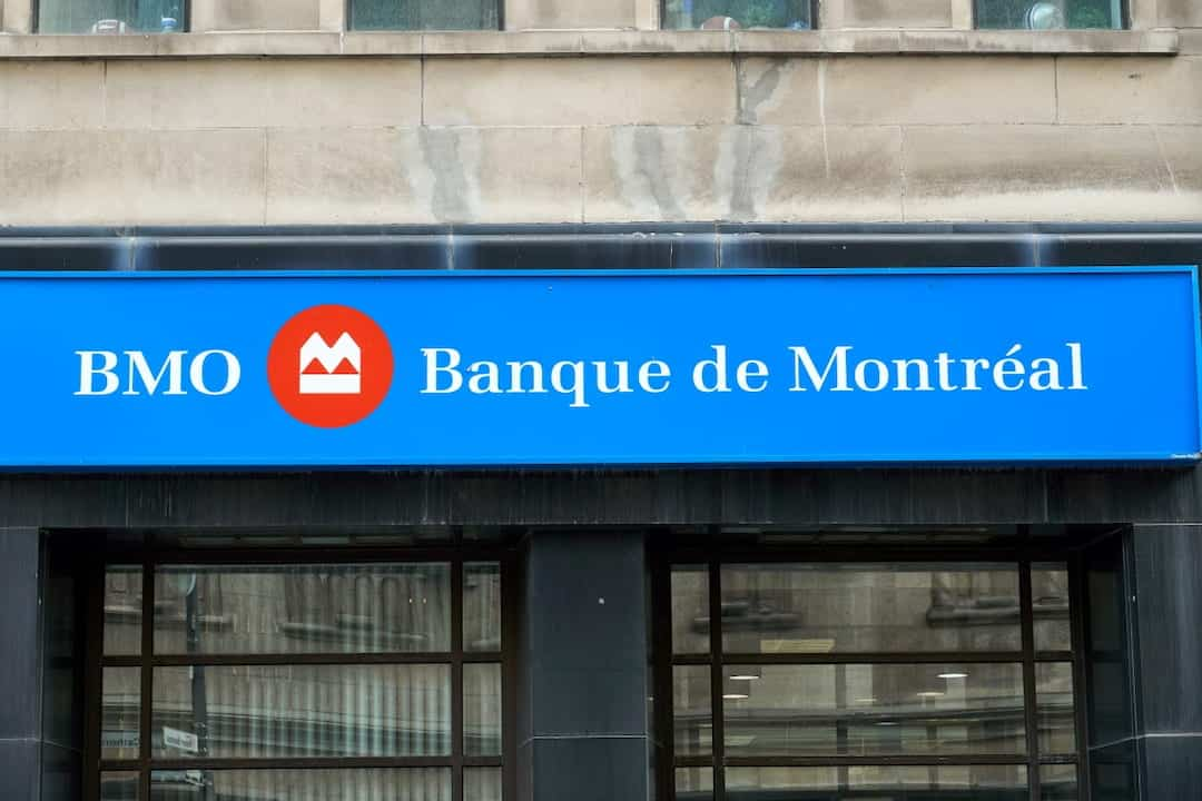 BMO bank building in Montreal, Canada