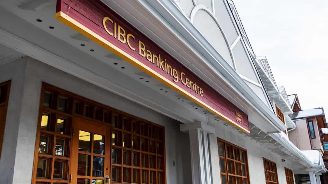 CIBC Banking Centre Entrance