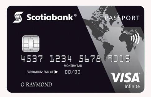 Passport Infinite card by Scotiabank