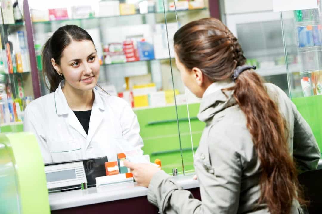 Medical pharmacy drug purchase