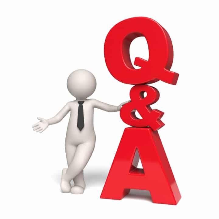 Q&A 3D icon