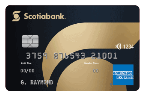 Gold American Express Card by Scotiabank