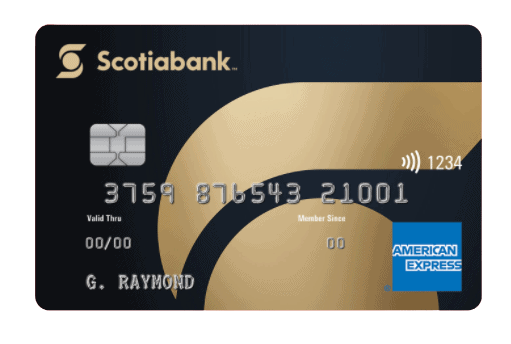 Gold AMEX by Scotiabank