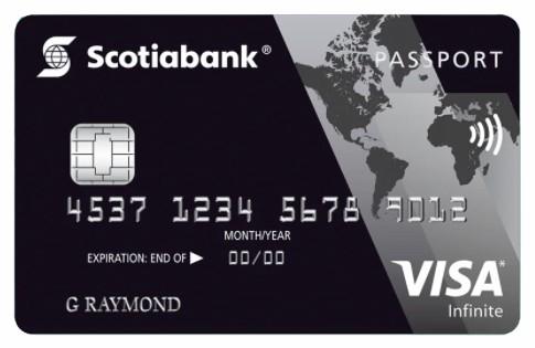 Passport Visa Infinite Card by Scotiabank
