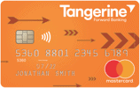 Cash back card by Tangerine