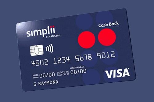 cash back card by Simplii Financial